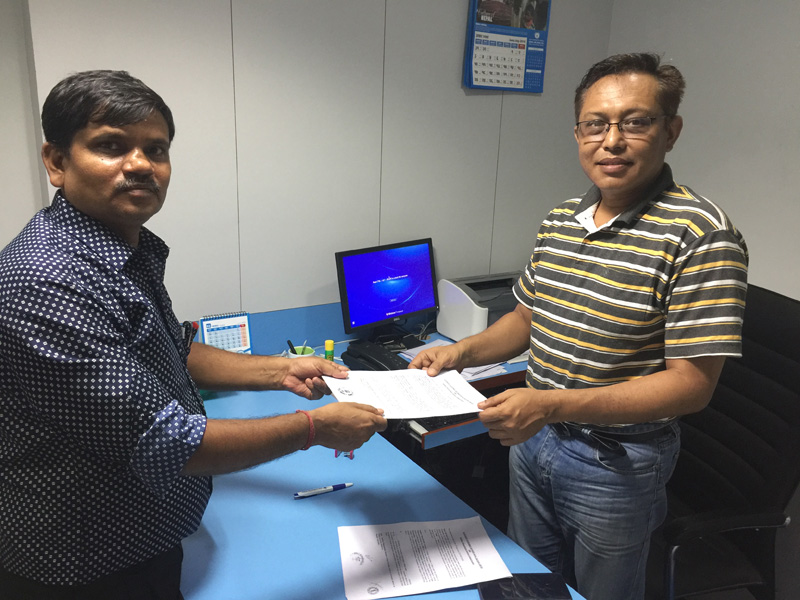 Internship Agreement With SBI